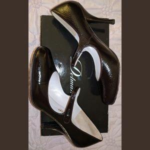 Delman Patent Leather Mary Jane